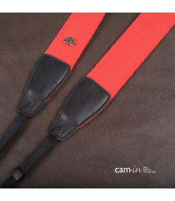 Bright Red Non-slip Camera Strap by Cam-in