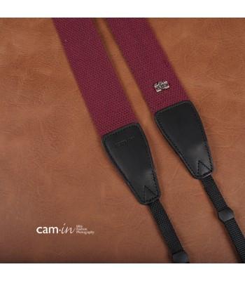 Purple Claret Adjustable Non-slip Camera Strap by Cam-in [DAMAGED BOX]
