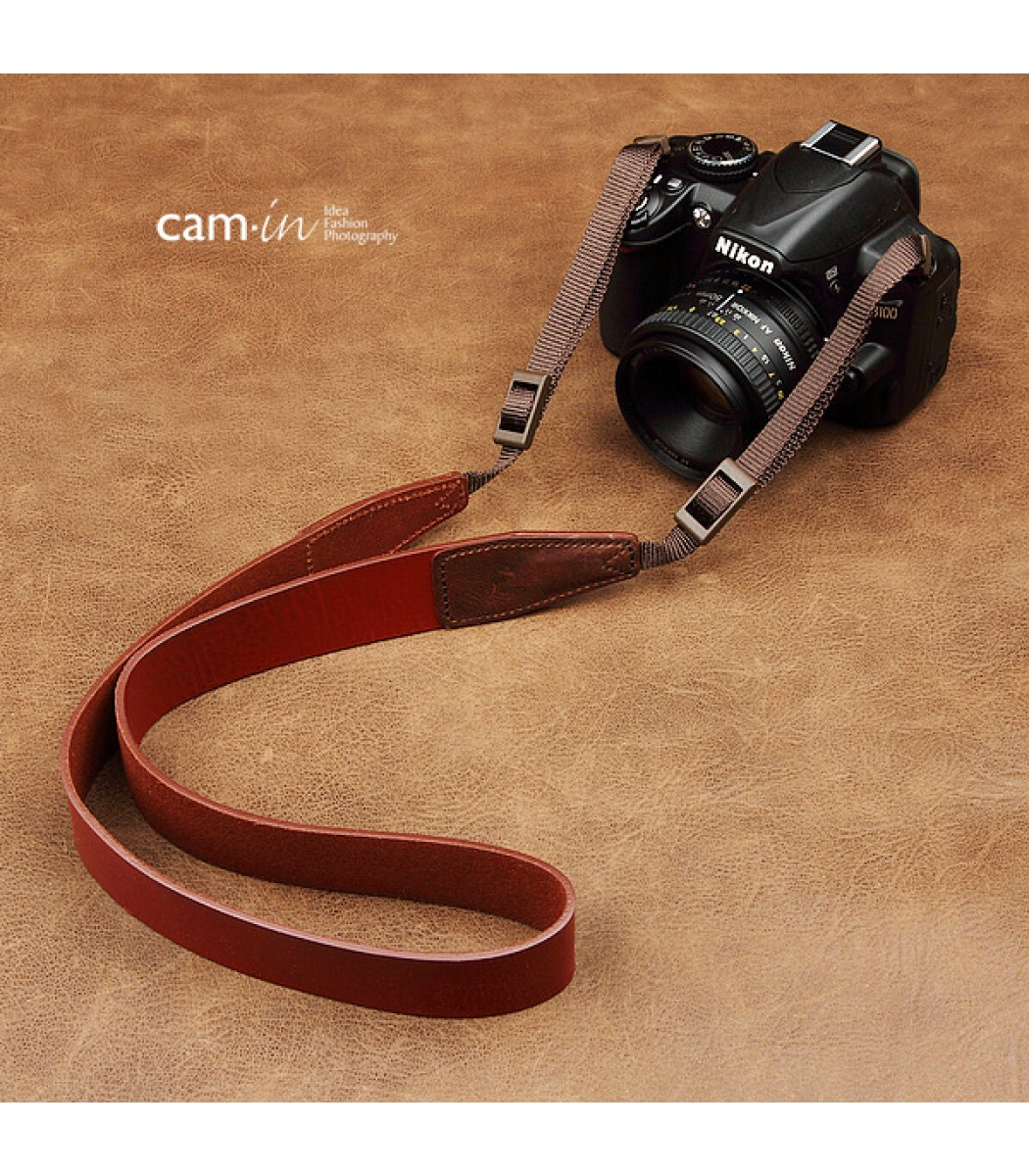 Leather DSLR Camera Strap by Cam-in