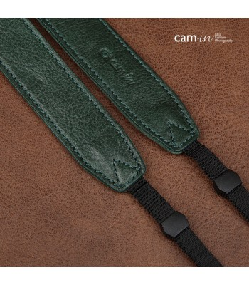 Leather DSLR Camera Strap by Cam-in - Green
